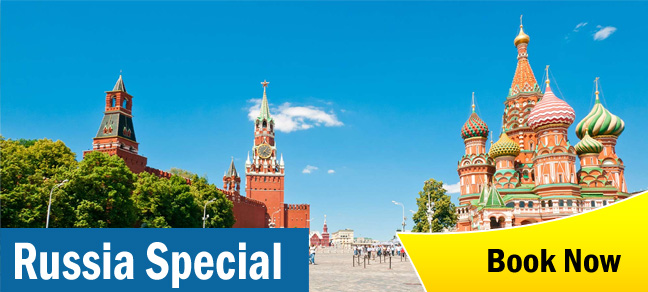 Russia group tour operator in bangalore